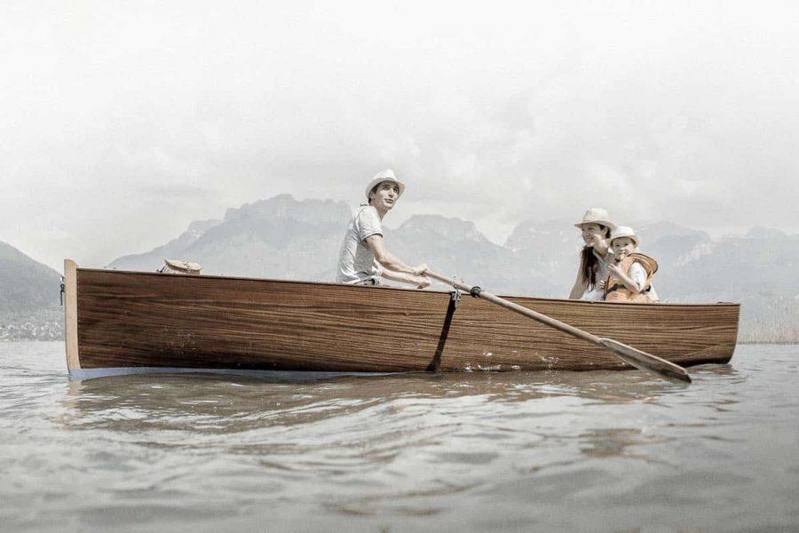 Spritz, la barque de tradition des Lacs Alpins reprend vie.
